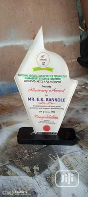 Acrylic Award   Arts & Crafts for sale in Lagos State, Mushin