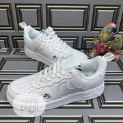 Nike AF-1 Glow in the Dark Swoosh ( White) | Shoes for sale in Lagos State, Lagos Island