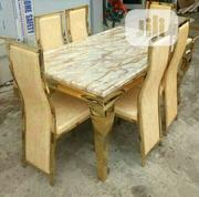 Classic Gold Dining Table. | Furniture for sale in Lagos State, Lekki Phase 2