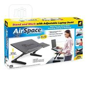 Airspace Adjustable Laptop Desk With Cooling Fan   Computer Accessories  for sale in Lagos State, Surulere