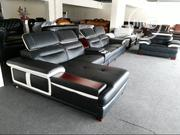 L-Shape Leather Sofa. | Furniture for sale in Lagos State, Lekki Phase 1