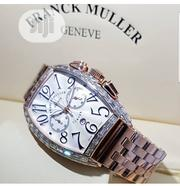 Authentic Franck Muller Curvex Chronograph Wristwatch   Watches for sale in Lagos State, Lagos Island