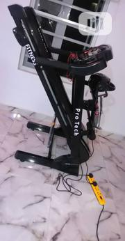 Pro Tech 2.5hp Treadmill With Massager and Dumbbells | Sports Equipment for sale in Lagos State, Ajah