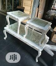 Unique Center Table With Two Side Stools | Furniture for sale in Lagos State, Surulere