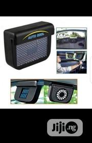 Solar Powered Car Auto Cool Air Vent Cooling Fan | Vehicle Parts & Accessories for sale in Lagos State, Ikotun/Igando