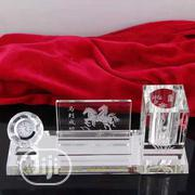 Unique Design Office Desk Crystal Pen Holder | Stationery for sale in Lagos State, Lagos Island