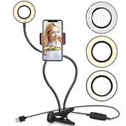 Phone Holder With Ring Light   Accessories & Supplies for Electronics for sale in Lagos State, Yaba