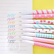 10pcs 6pcs Ful Flower Gel Pens Office Stationary Stationery | Stationery for sale in Lagos State, Agege