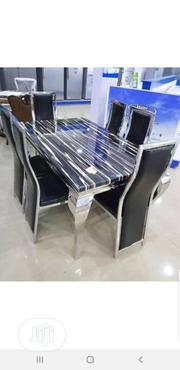 6 Person Marble Dinning Table | Furniture for sale in Lagos State, Maryland