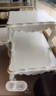 A Set of Royal Center Table With Two Side Stools   Furniture for sale in Lagos State, Lekki Phase 2