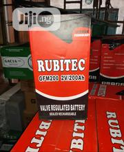 200a 2v Rubitec Battery | Solar Energy for sale in Lagos State, Ojo