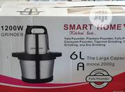 Smart Home Grinder Food Pounder And Grinder 6 Litres 1200watts | Kitchen Appliances for sale in Lagos State, Ojo
