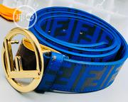 Fendi Leather Belt for Men's | Clothing Accessories for sale in Lagos State, Lagos Island