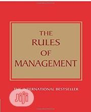 The Rules Of Management | Books & Games for sale in Lagos State, Surulere
