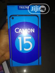 New Tecno Camon 15 64 GB Black | Mobile Phones for sale in Lagos State, Victoria Island