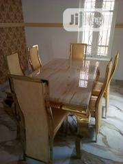 Marble Dining By 6 Seaters | Furniture for sale in Lagos State, Amuwo-Odofin