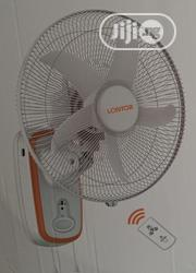 Lontor Rechargeable Wall Fan With Remote Control | Home Appliances for sale in Lagos State, Ikeja