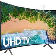Samsung Curved UHD Ultra Slim Smart 4K TV - Black 65 Inch | TV & DVD Equipment for sale in Abuja (FCT) State, Wuse
