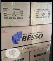 12volt 200ah Besso Battery With to Warranty | Solar Energy for sale in Lagos State, Ojo