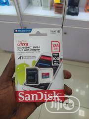 Original Sandisk 128GB Memory Card | Accessories for Mobile Phones & Tablets for sale in Lagos State, Ikeja