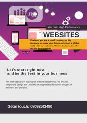 Get a Website for Your Business Now | Computer & IT Services for sale in Lagos State, Ikeja