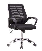 Secretary Mesh and Fabric Swivel Chair | Furniture for sale in Lagos State, Ojo