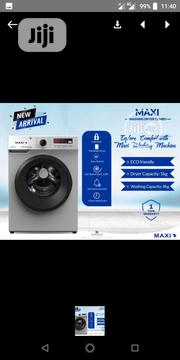 Maxi Auto 8kg Wash and Drying With Digital Silver Color Child Lock | Home Appliances for sale in Lagos State, Ojo