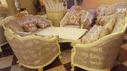 Quality Antique Sofa +Table | Furniture for sale in Lagos State, Ojo