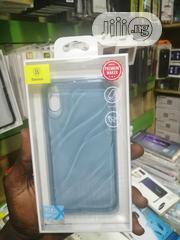 Baseus Case for iPhone X/Xs Transparent Brown - Blue | Accessories for Mobile Phones & Tablets for sale in Lagos State, Ikeja