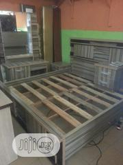 6x6 Bedframe With Dressing Mirror | Furniture for sale in Lagos State, Ojo