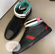 Gucci High Top Sneaker Available as Seen Swipe to Pick Your Preferred | Shoes for sale in Lagos State, Lagos Island