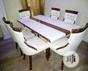 Executive Marble Dinning Table And Chairs | Furniture for sale in Lagos State, Ikorodu