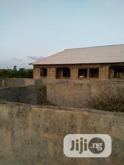 "A Plot of Land With 4 Bedroom Flat ""Window Level"" Built O 