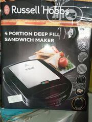 Russell Hobbs 4 Portion Deep Fill Sandwich Maker | Kitchen Appliances for sale in Lagos State, Ojo