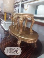 Royal Turkey Center Table and Two Sides Stools | Furniture for sale in Lagos State, Ajah