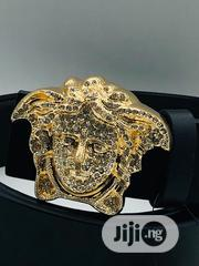 Versace Leather Belt Original   Clothing Accessories for sale in Lagos State, Surulere