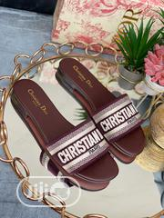 Christian Dior Slippers Ladies | Shoes for sale in Lagos State, Isolo
