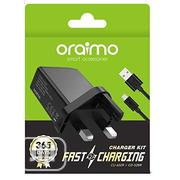 Oraimo Cu60zr+Cd52br Fast Charger | Accessories for Mobile Phones & Tablets for sale in Lagos State, Amuwo-Odofin