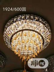 Led Crystal Flush Chandelier | Home Accessories for sale in Lagos State, Lekki Phase 2