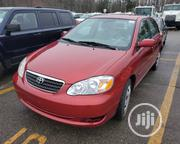 Toyota Corolla 1.6 VVT-i 2007 Red | Cars for sale in Lagos State, Ikeja