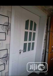 4ft Solid Wooden Door With Glass | Doors for sale in Lagos State, Orile