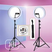 30cm LED Ring Selfie Fill-in Lighting Studio Ring Light With Tripod   Accessories & Supplies for Electronics for sale in Lagos State, Surulere