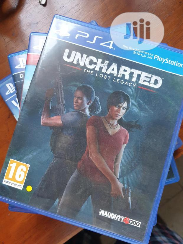 Uncharted 5 Ps4 In Surulere Video Games Yin Autos Jiji Ng For