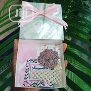 Silver Gift Box With Pink Brooch And Beaded Hair Clip   Arts & Crafts for sale in Lagos State, Agege