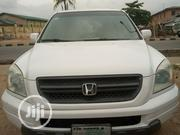 Honda Pilot 2003 EX-L 4x4 (3.5L 6cyl 5A) White | Cars for sale in Lagos State, Ikotun/Igando