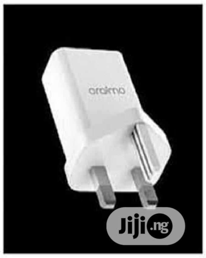Oraimo 3x Fast Charger. Pe+2.0 Utra Fast Charger- White | Accessories for Mobile Phones & Tablets for sale in Amuwo-Odofin, Lagos State, Nigeria