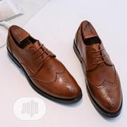 Molianseng Men's Oxford Brogue Wingtip Dress Shoes In Brown. | Shoes for sale in Lagos State, Alimosho