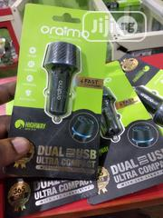 OCC-21D Oraimo Fast Car Charger | Accessories for Mobile Phones & Tablets for sale in Akwa Ibom State, Uyo