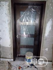 Solid Wood With Glass | Doors for sale in Lagos State, Orile