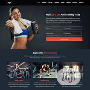 Fitness/Gym Website   Computer & IT Services for sale in Rivers State, Port-Harcourt